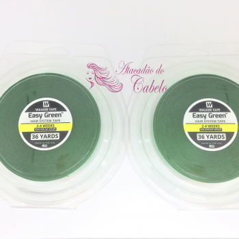 Fita Adesiva Easy Green Verde 36m X 2.5cm – Kit C/2